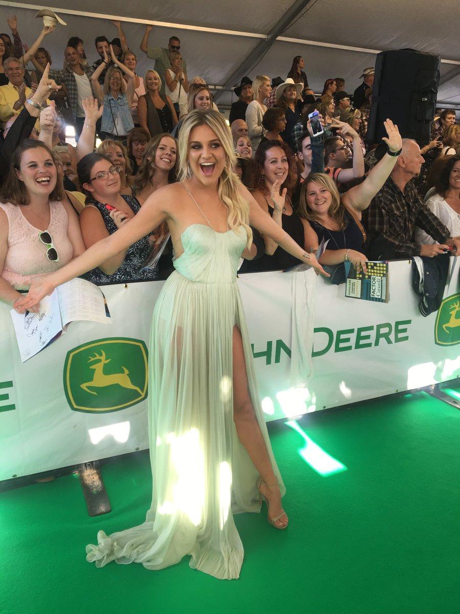 Kelsea Ballerni on the CCMA Awards Green Carpet