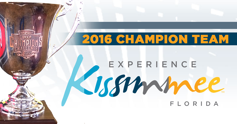 Congratulations to Team Experience Kissimmee, Florida for winning the 2016 #ChampionsCup! Their team won the most money during this year's Wrangler Champions Challenge tour presented by Justin Boots! Wanna know more about last night's performance at the Pasadena Livestock Show & Rodeo, including individual event winners? Read the full story here: http://www.prorodeo.com/news-display/2016/09/24/askey-has-good-time-at-wcc-pasadena-event — with Justin Boots, Wrangler and Experience Kissimmee, Florida at Pasadena Livestock Show & Rodeo.