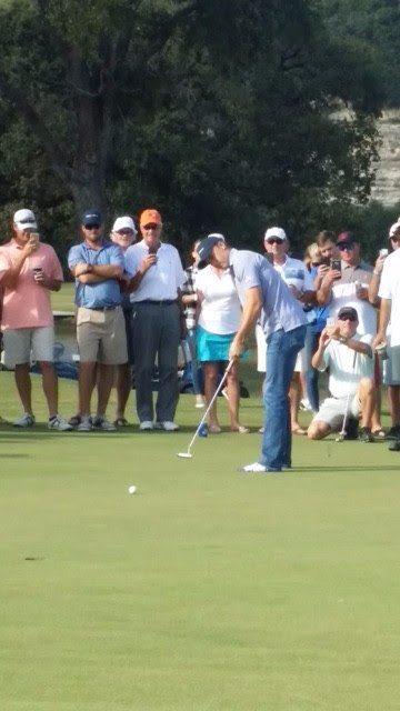PGA Tournament champion Jordan Spieth participated in the event.