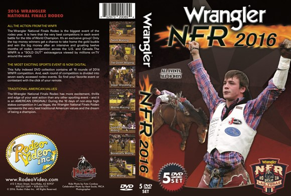 Pre-Order Now! 2016 Wrangler NFR - National Finals Rodeo