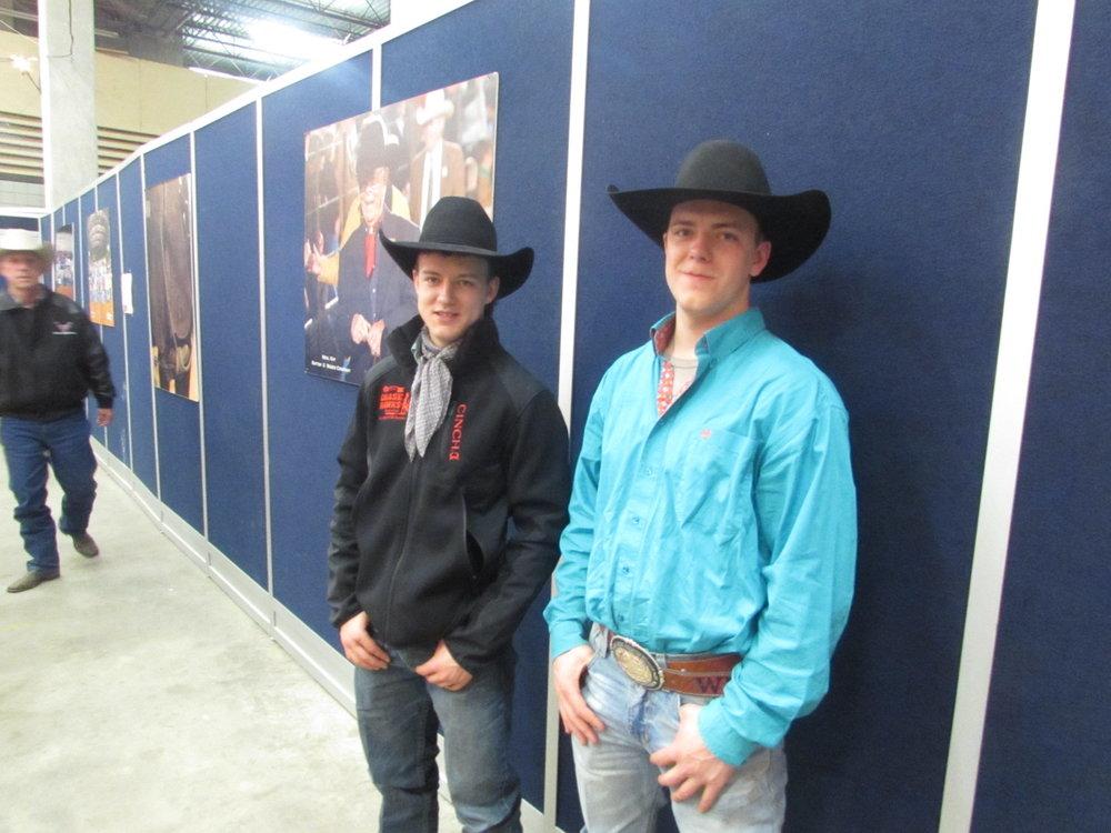 Fort Worth Stock Show Memory - January 2015 - Zeke & Wyatt Thurston. Photo by Rational Media