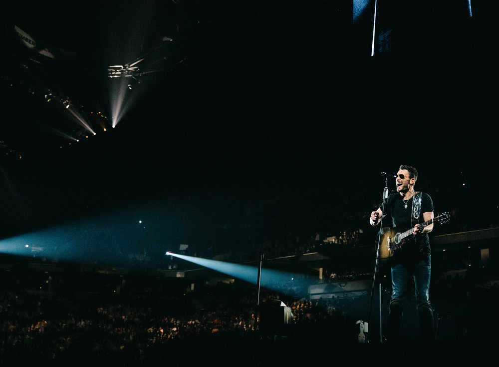 Eric Church; Photo by Reid Long