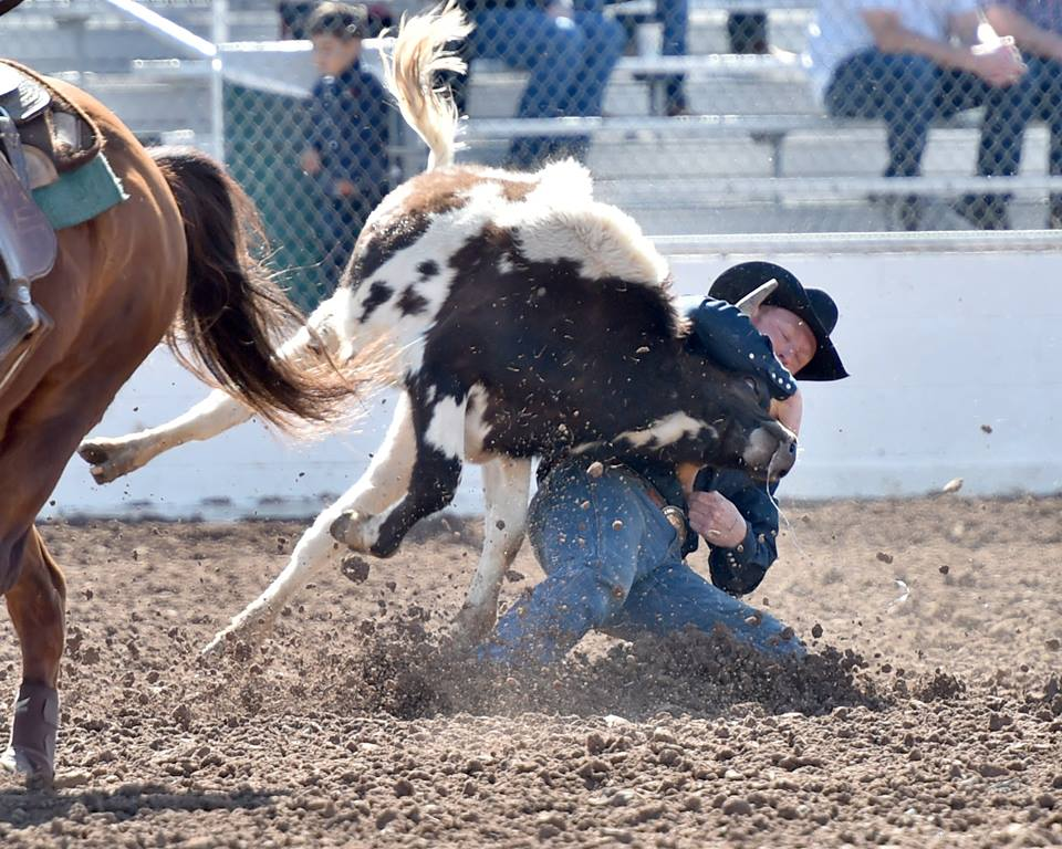 Fast & Furious! Curtis Cassidy from Donalda, AB, Canada tied the 3.8 Tucson arena record posted in 2002 by Lynn Nieveen, Brian Bauerle and Cash Meyers. Slack continues Tues. at 8 am.Hubbell Rodeo Photos