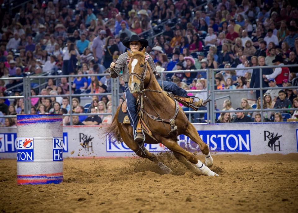 RODEOHOUSTON Facebook Page RODEOHOUSTON is sad to hear of the passing of a true champion. Barrel Racer Nancy Hunter was a three-time #RODEOHOUSTON champion. Our thoughts and prayers are with Nancy's family and the rodeo community.