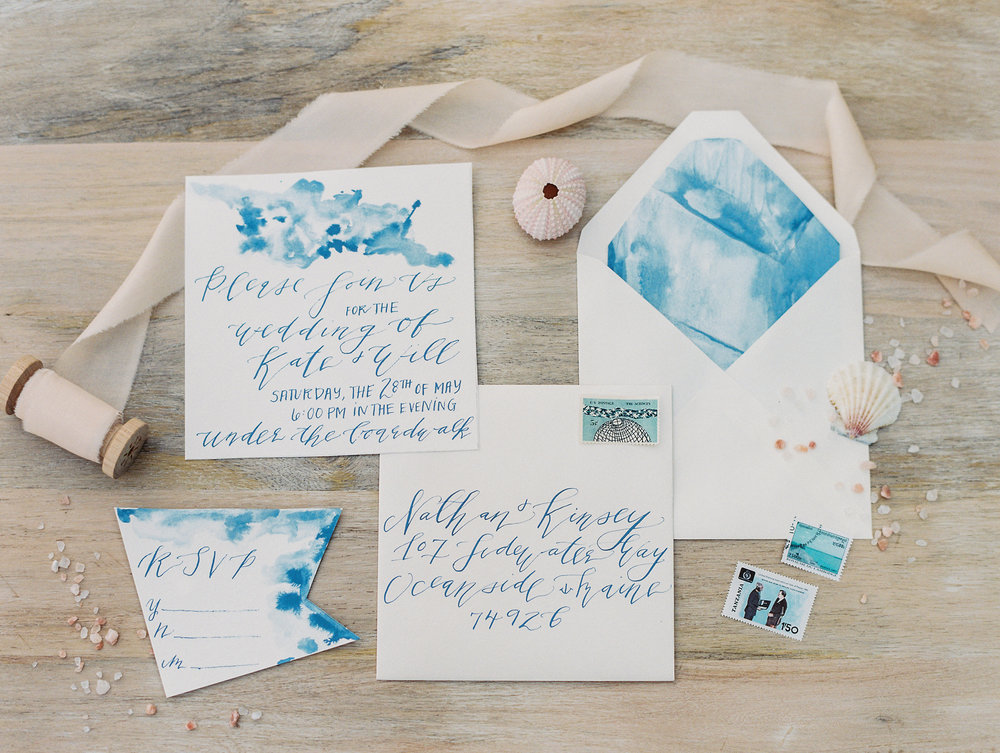 Coastal Beach Wedding Inspiration East Made Event Company