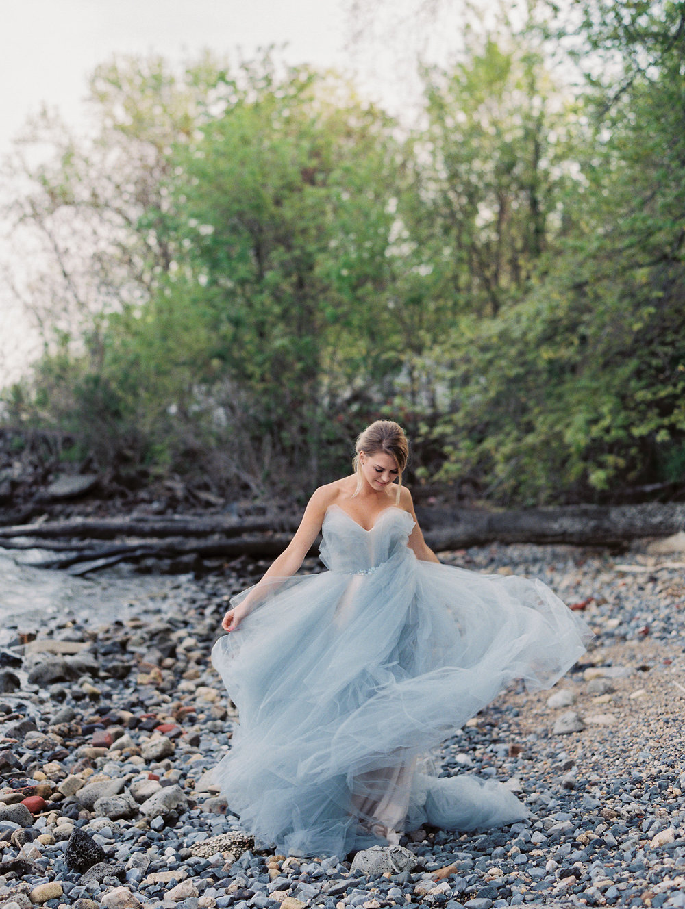Image by CJK Visuals. The magic of tulle on film.