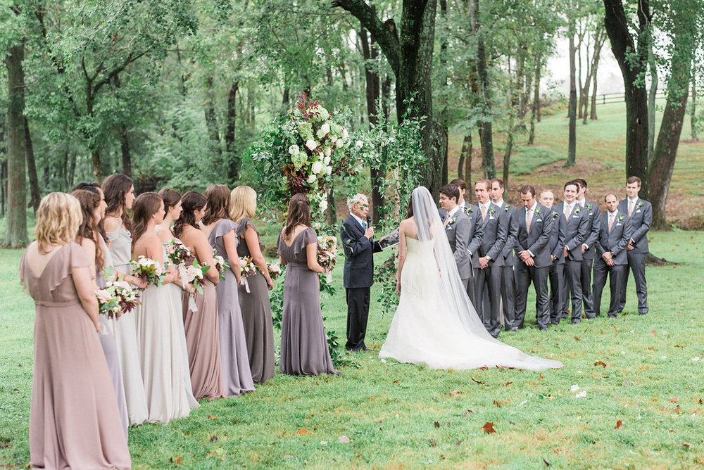 Virginia Countryside Fall Wedding by East Made Event Company fine art destination wedding planner and Julie Paisley Photography as featured on Style Me Pretty81.jpg