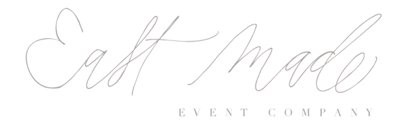 EAST MADE EVENT COMPANY | Baltimore Maryland Virginia Washington DC Fine Art Destination Wedding Planner and Stylist