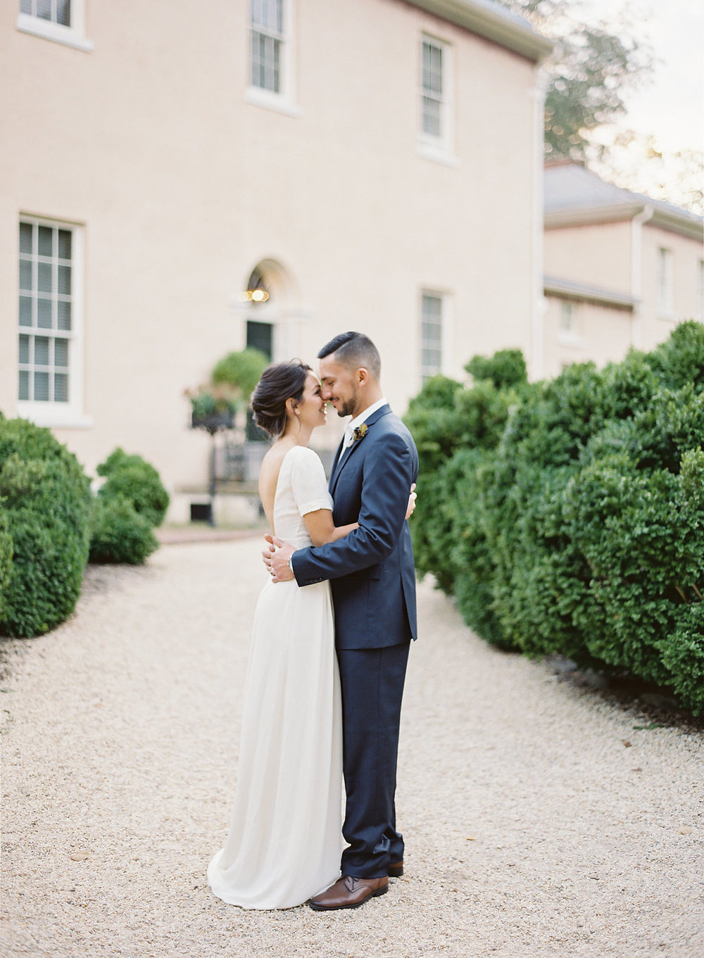 French Inspired Fall Wedding with Fine Art Destination Wedding Planner East Made Event Company and DC Film Photographer Vicki Grafton Photography at Tudor Place in Washington DC-115.jpg