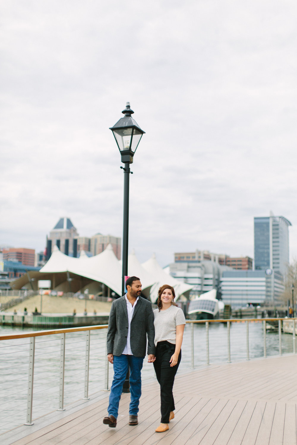 Baltimore Inner Harbor waterfront engagement photography session with Nicki Metcalf Photography-0016.jpg