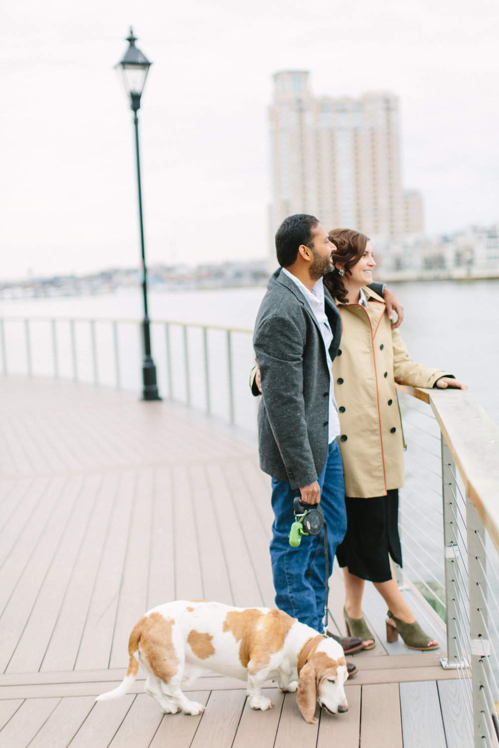 Baltimore Inner Harbor waterfront engagement photography session with Nicki Metcalf Photography-0019.jpg