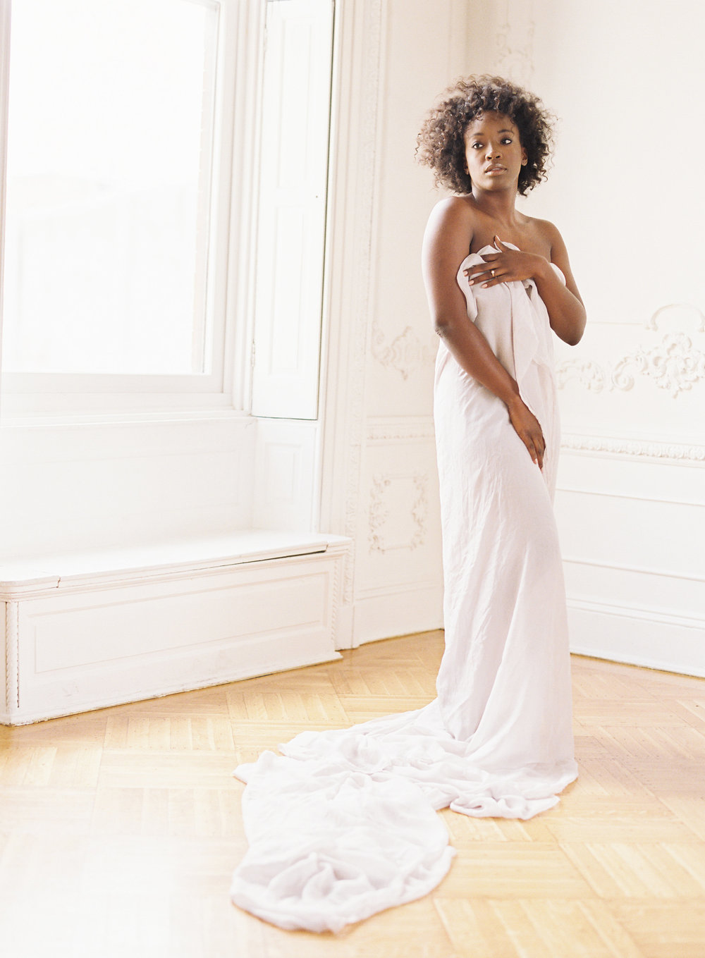 Minimal boudoir photoshoot at the Elephant Restaurant Baltimore with Michael and Carina Photography and fine art luxury wedding planner and stylist East Made Event Company-0009.jpg