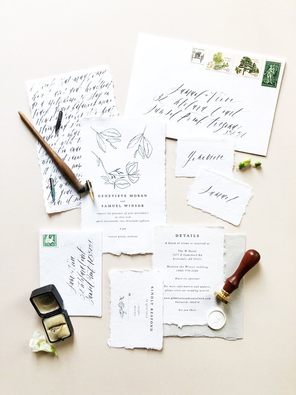 Prop Stylist NYC Wedding Planner Designer East Made Event Company and Shotgunning for Love Letters Calligraphy47.jpg