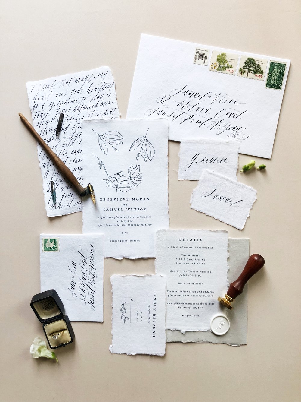 Prop Stylist NYC Wedding Planner Designer East Made Event Company and Shotgunning for Love Letters Calligraphy63.jpg