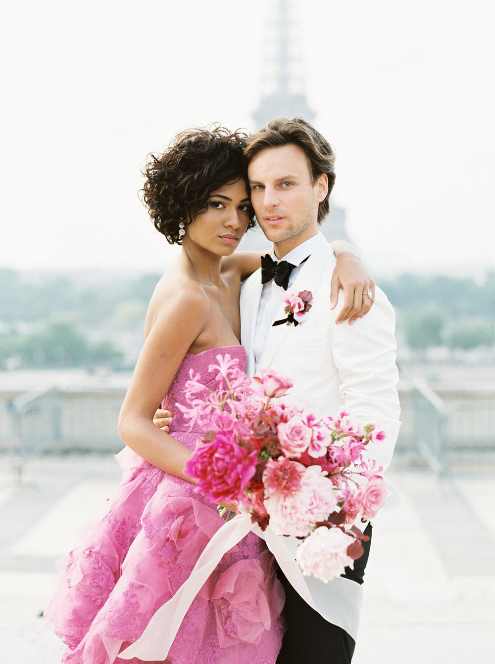 Trocadero Paris Elopement with pink Marchesa gown by East Made Event Company and Sophie Kaye Photography(29of121).jpg