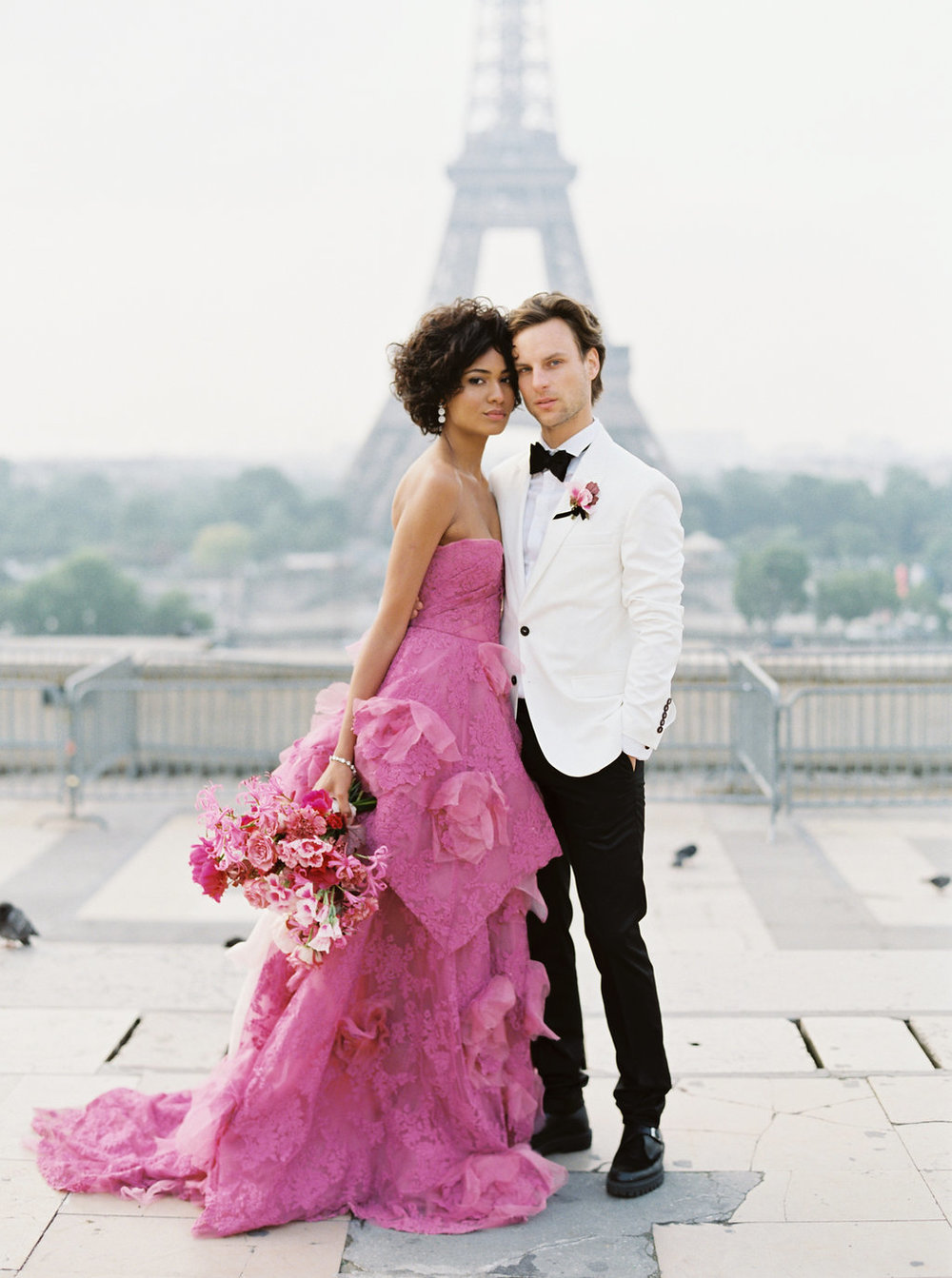 Trocadero Paris Elopement with pink Marchesa gown by East Made Event Company and Sophie Kaye Photography(35of121).jpg