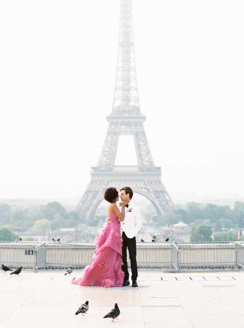 Trocadero Paris Elopement with pink Marchesa gown by East Made Event Company and Sophie Kaye Photography(89of121).jpg