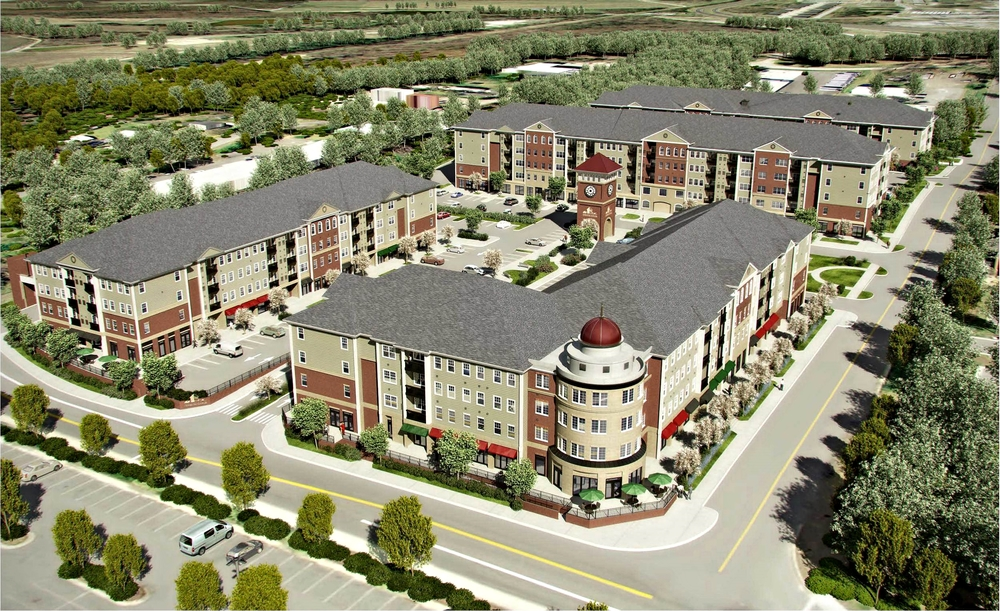 3d renderings and animation of commercial, mixed use and multi family real estate development, developers of new england.