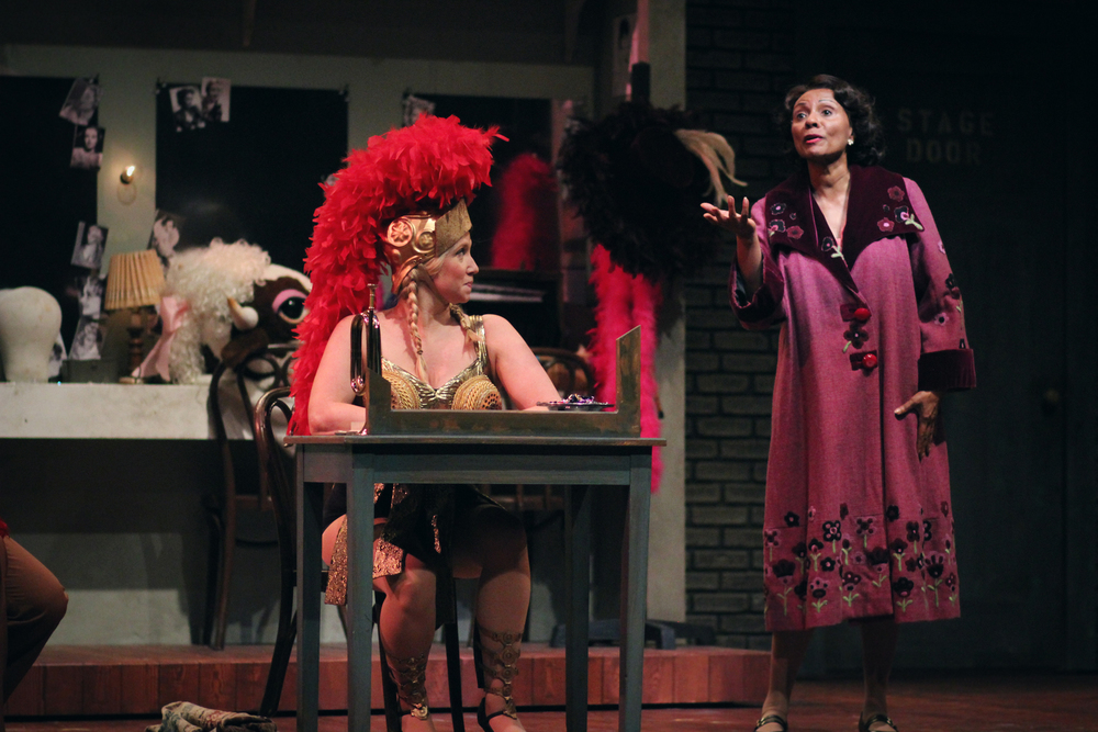 Ariana Shore and Leslie Uggams in  Gypsy  at Connecticut Repertory Theatre. Directed and Produced by Vincent J. Cardinal
