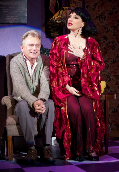 Pat Sajak and Liz Larsen in  The Drowsy Chaperone  at Connecticut Repertory Theatre. Directed and Produced by Vincent J. Cardinal.