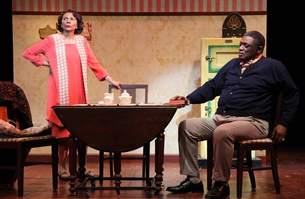 Leslie Uggams and Michael James Leslie in  Gypsy  at Connecticut Repertory Theatre. Directed and Produced by Vincent J. Cardinal