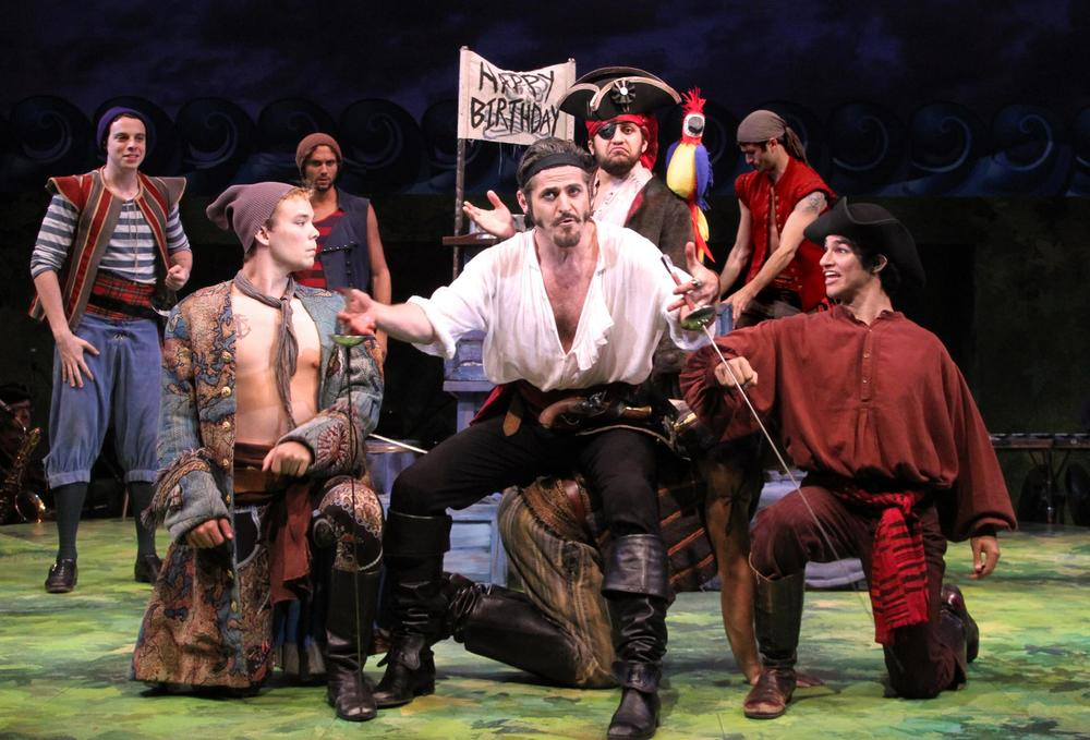 Sean Hingston in The Pirates of Penzance directed by Terrence Mann