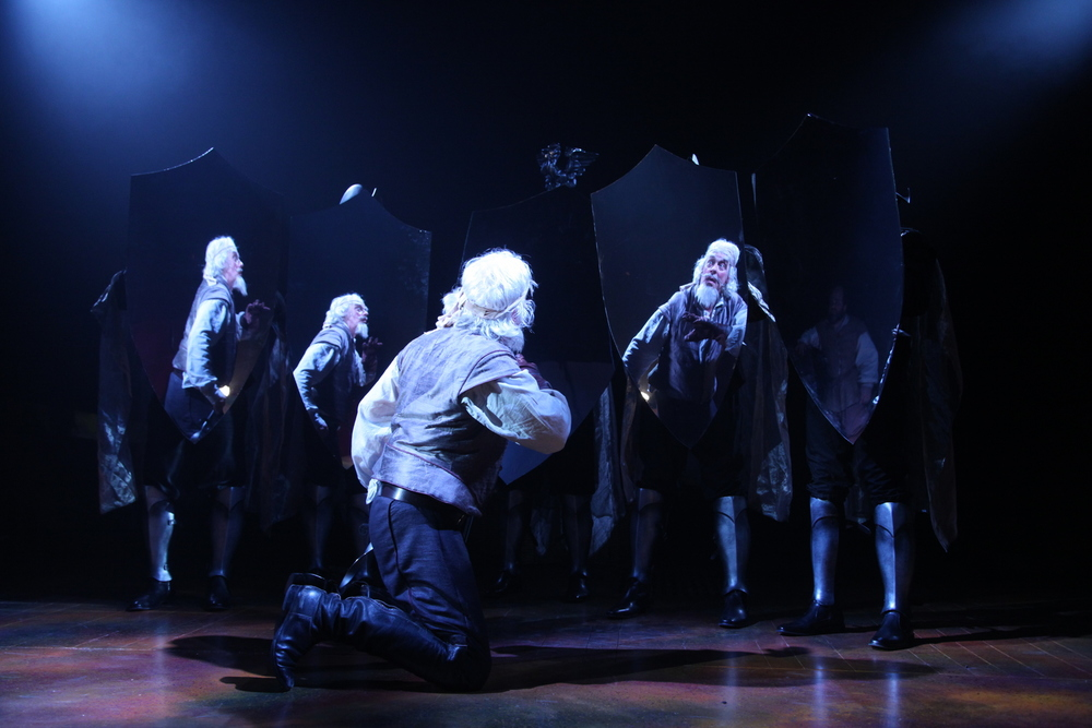 Terrence Mann in  Man of La Mancha  at Connecticut Repertory Theatre. Directed and Produced by Vincent J. Cardinal.
