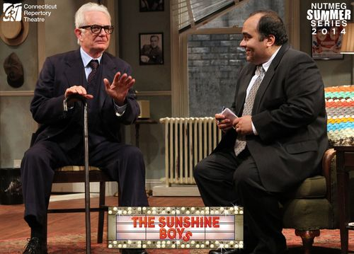 Richard Kline and Richard Ruiz in  The Sunshine Boys  Produced and Directed by Vincent J. Cardinal