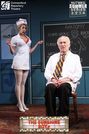 Sarah Andreas, and Jerry Adler in  The Sunshine Boys  Produced and Directed by Vincent J. Cardinal