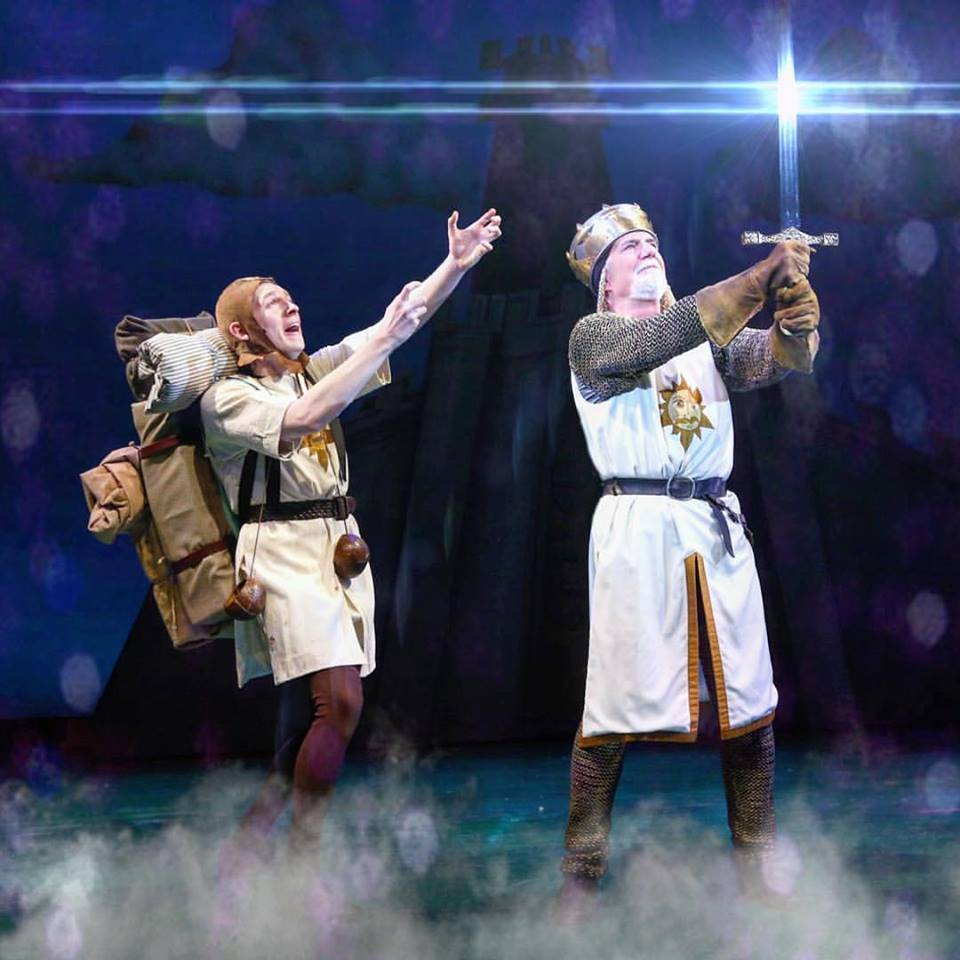 Richard Kline in  Spamalot .