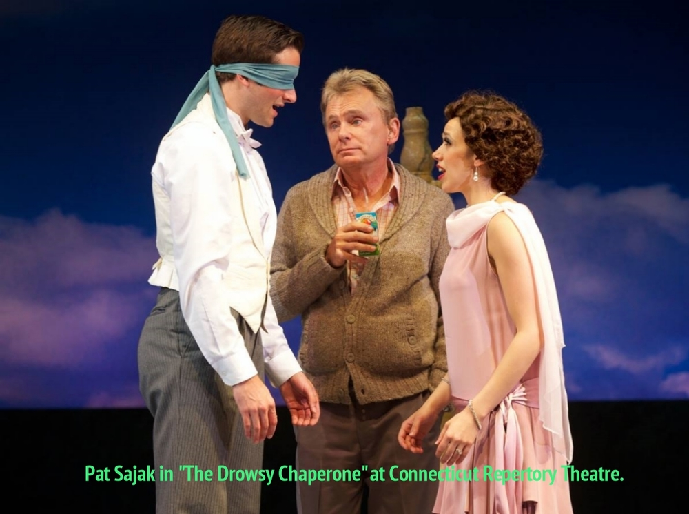 Pat Sajak in  The Drowsy Chaperone  at Connecticut Repertory Theatre. Directed and Produced by Vincent J. Cardinal.