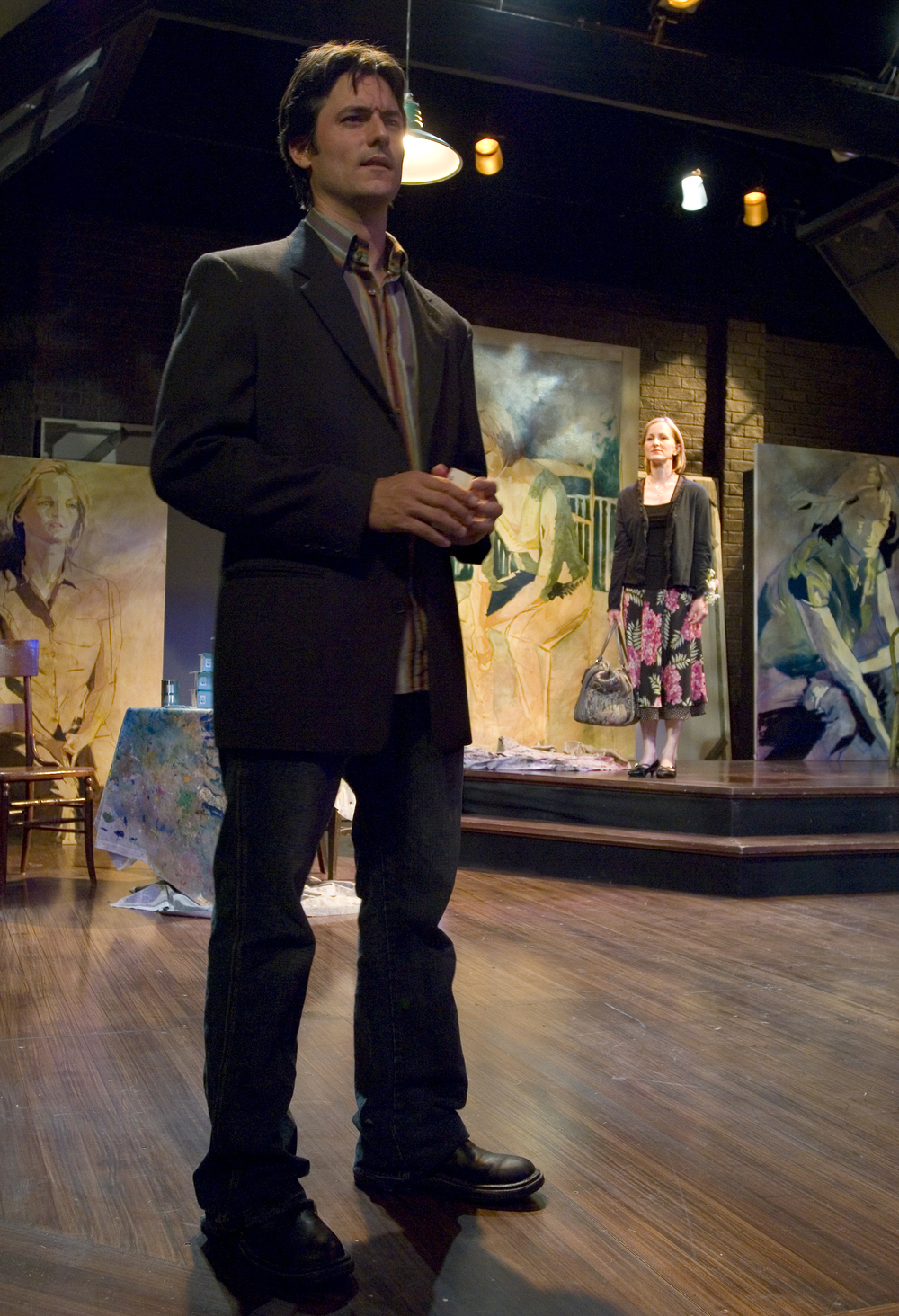 The Colorado Catechism  at Theatre Aspen with Rick Stears and Diana Dresser .  Directed by and written by Vincent J. Cardinal