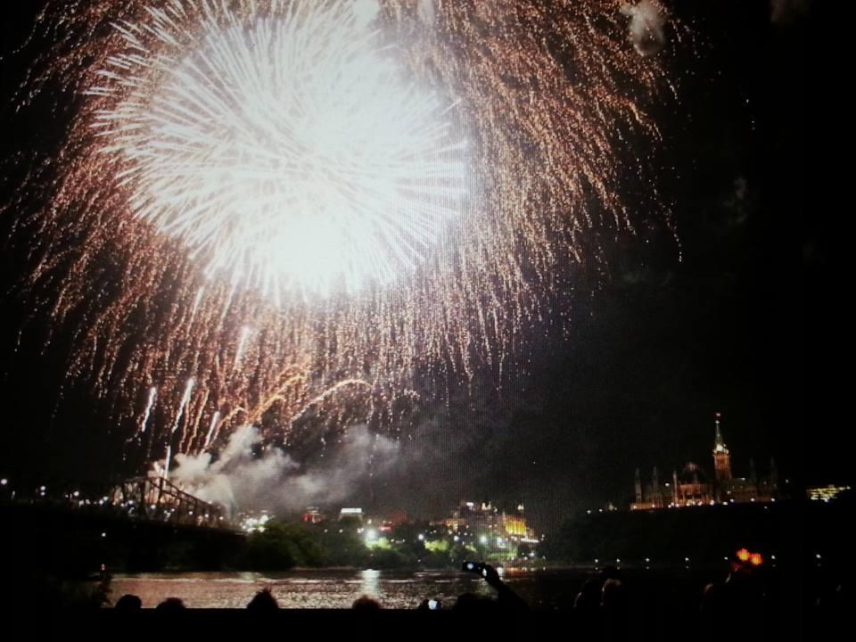 Ottawa fireworkds