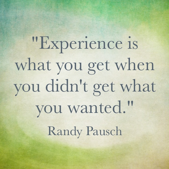 experience quote