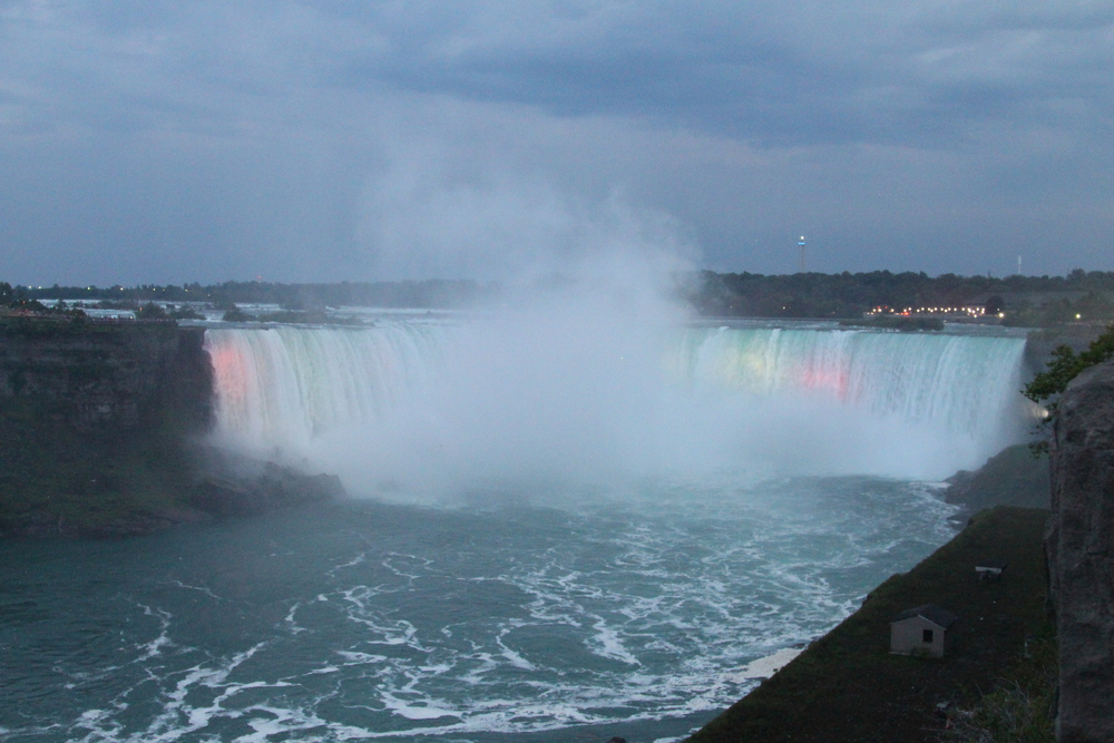 Horseshoe Falls as viewed from Canada. Stunning!