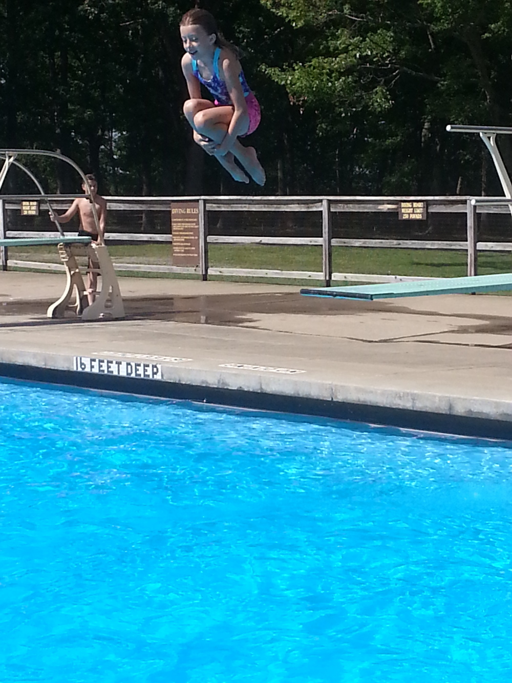 Epic cannonball!