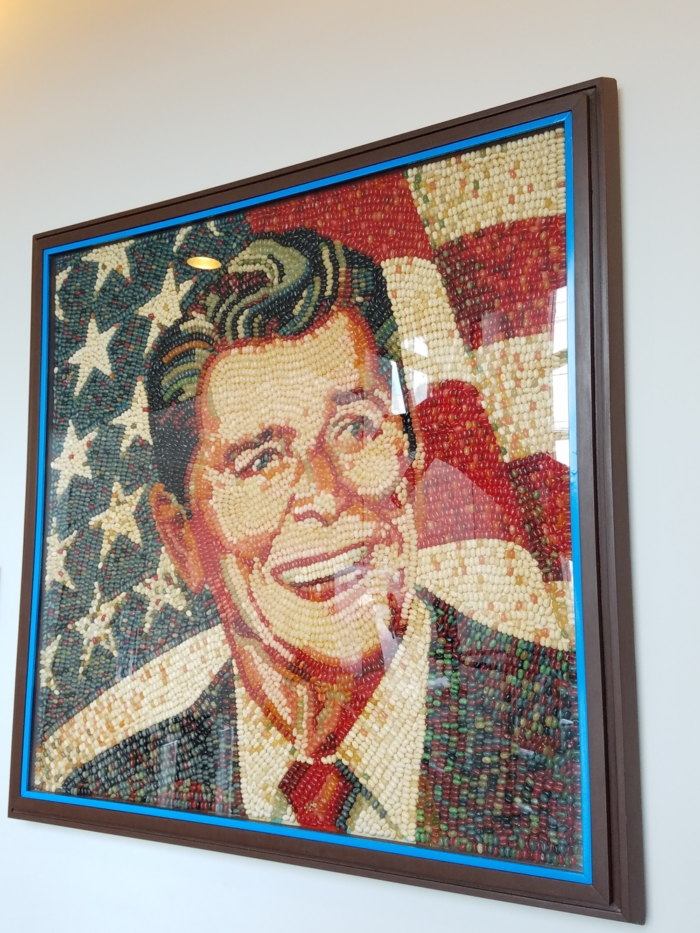 Made of jellybeans, of course.