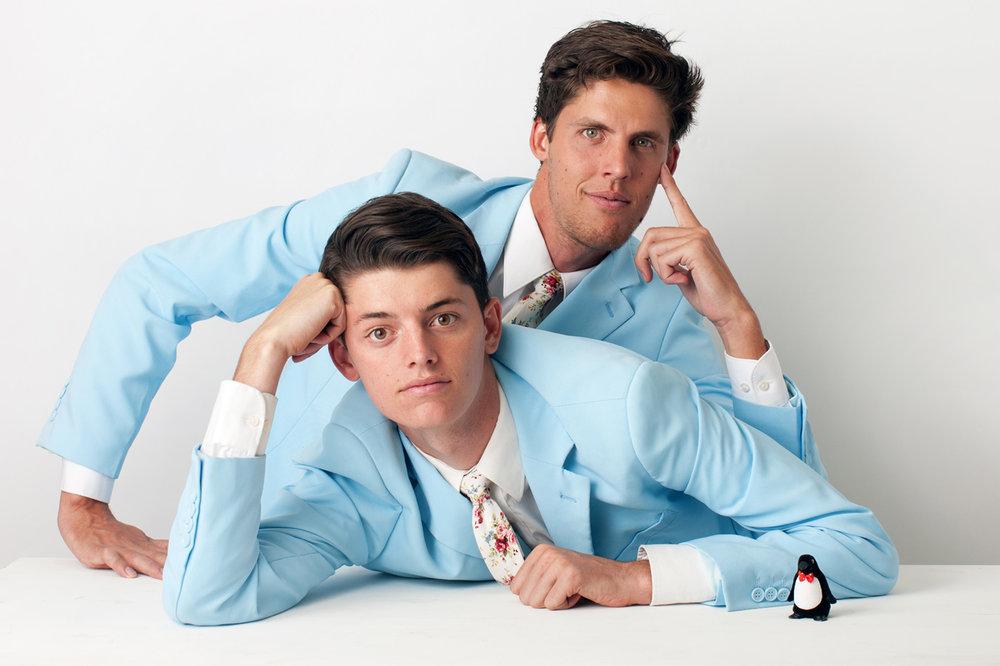 Brandon & Blake Barkdull, Shop Owners