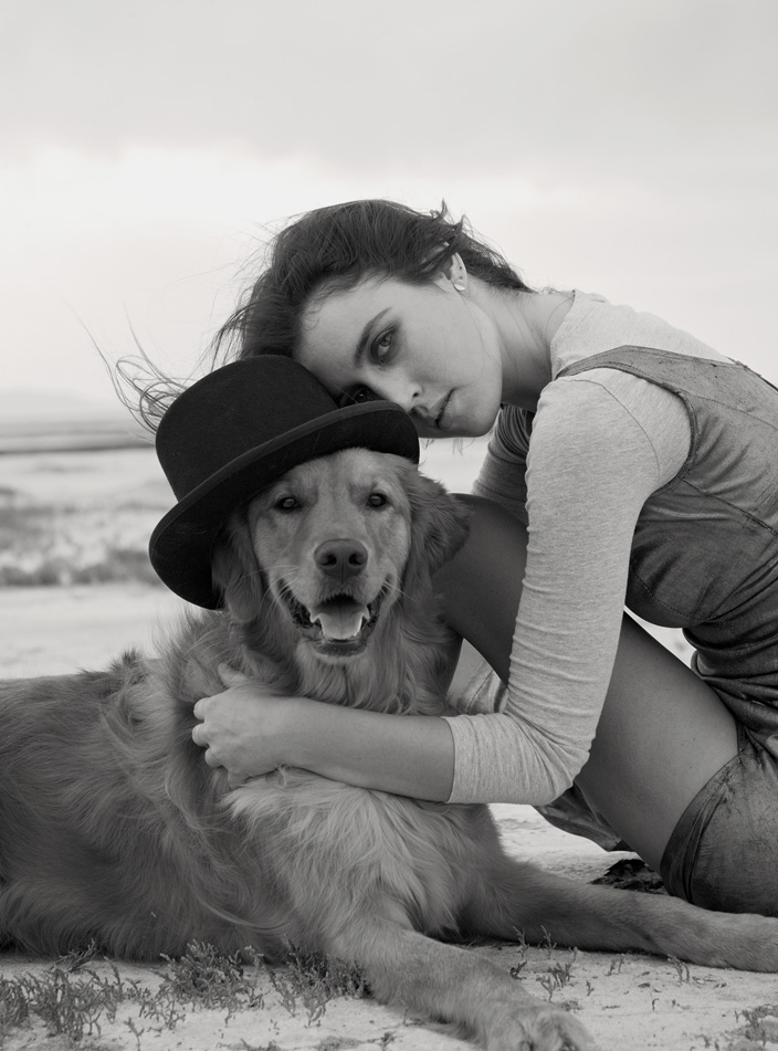 Lindsey Gee, Model, and Ollie