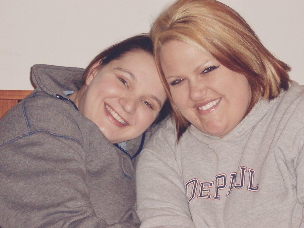 Jen and Britni,2003