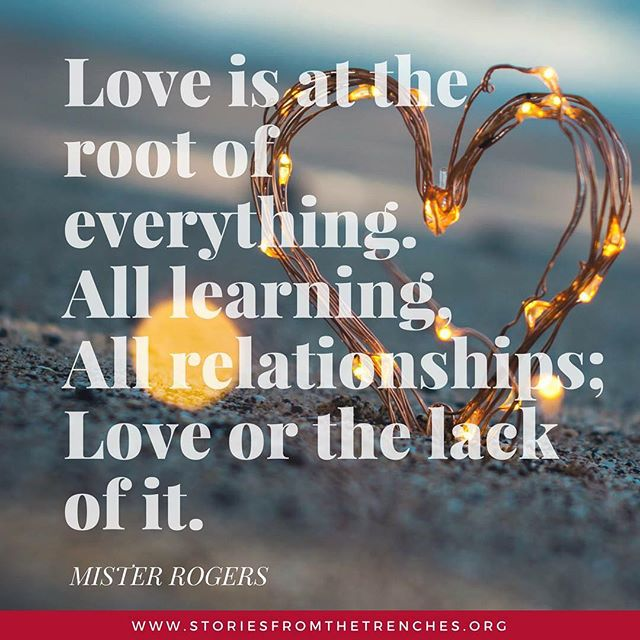 #quoteoftheday #tuesday #tuesdaymotivation #misterrogers #lovequotes #love #belove