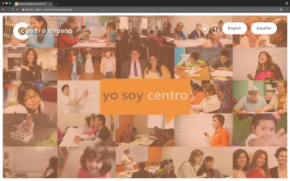Centro Hispano Website
