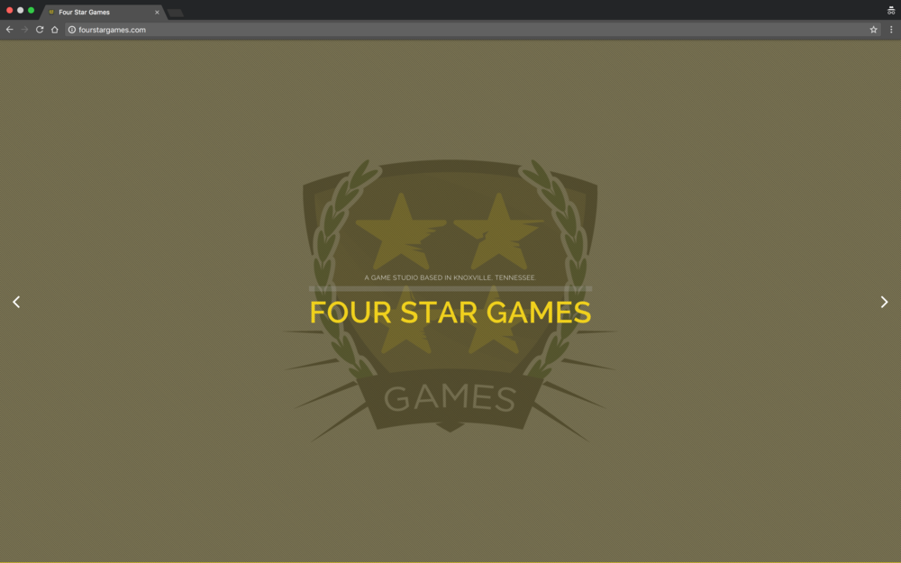 Four Star Games Website