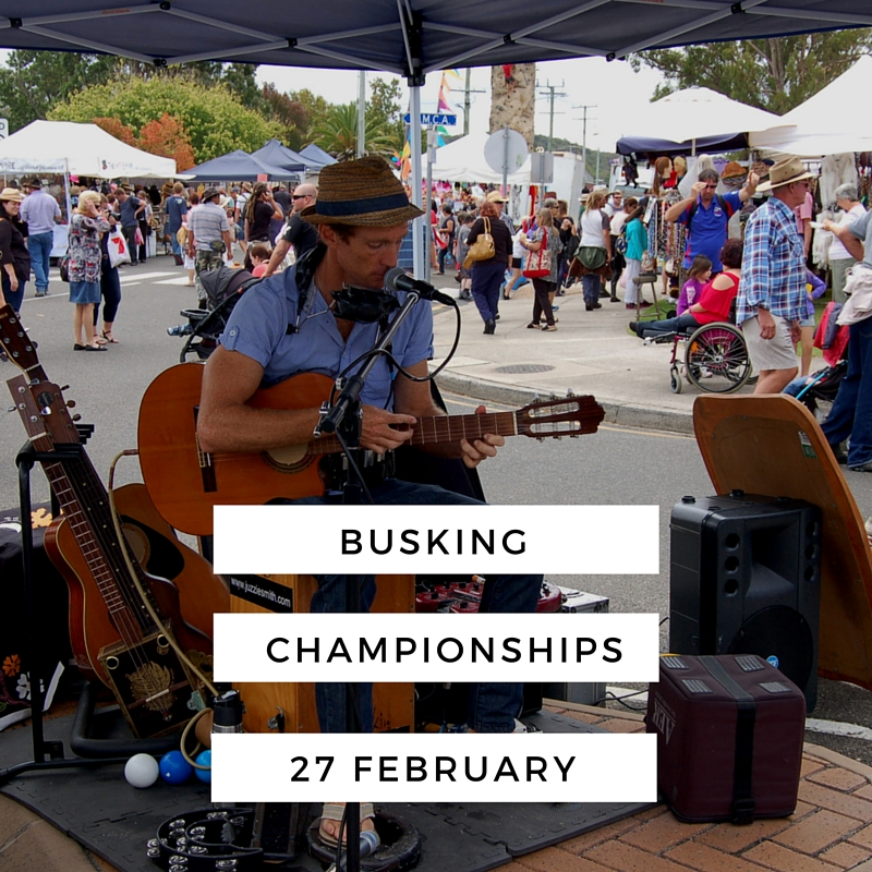 The Australian National Busking Championships™ -South East Queensland Regional Finals.