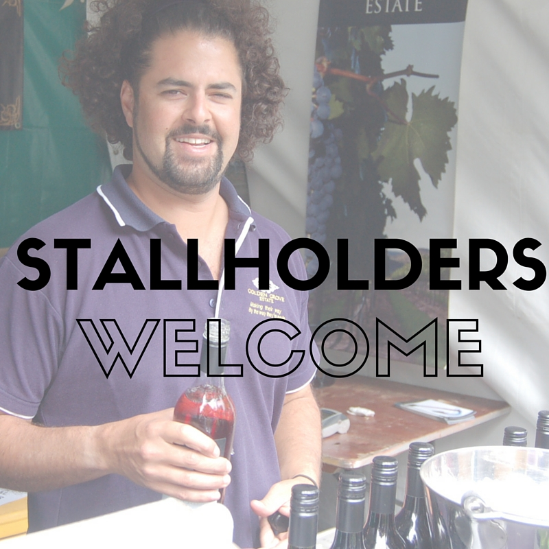 Stallholders welcome