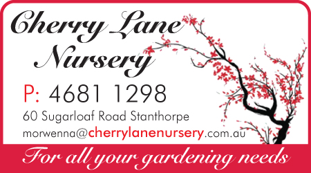 Sponsored by Cherry Lane Nursery
