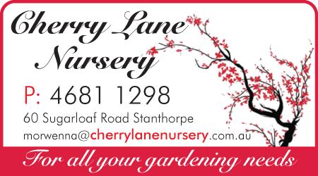 Sponsored by Cherry Lane Nursery