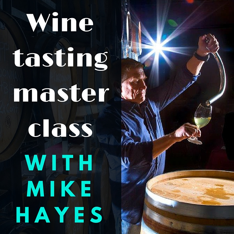 Wine Masterclass with Mike Hayes