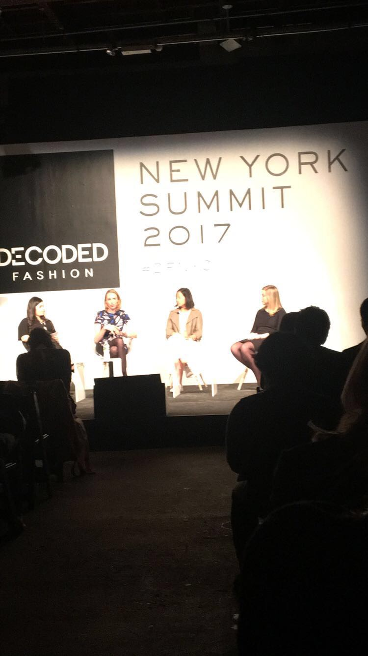 Quick Fire Panel Forecasting Fashion's Future:  Moderator:  Chavie Lieber, Senior Reporter, Racked Speakers: Dominique Essig, Chief Experience Officer, Bonobos Tracy Sun, Co-Founder & VP of Merchandising, Poshmark Kate Twist, Chief Digital Officer, Xcel Brand