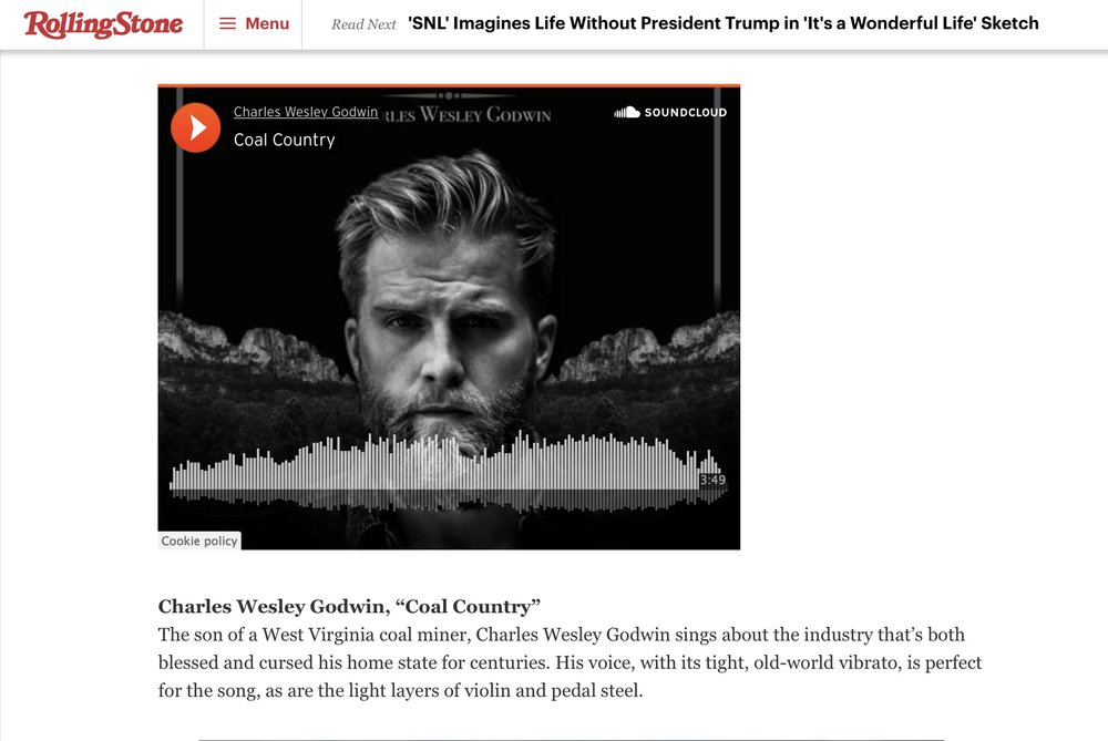 Rolling Stone Feature